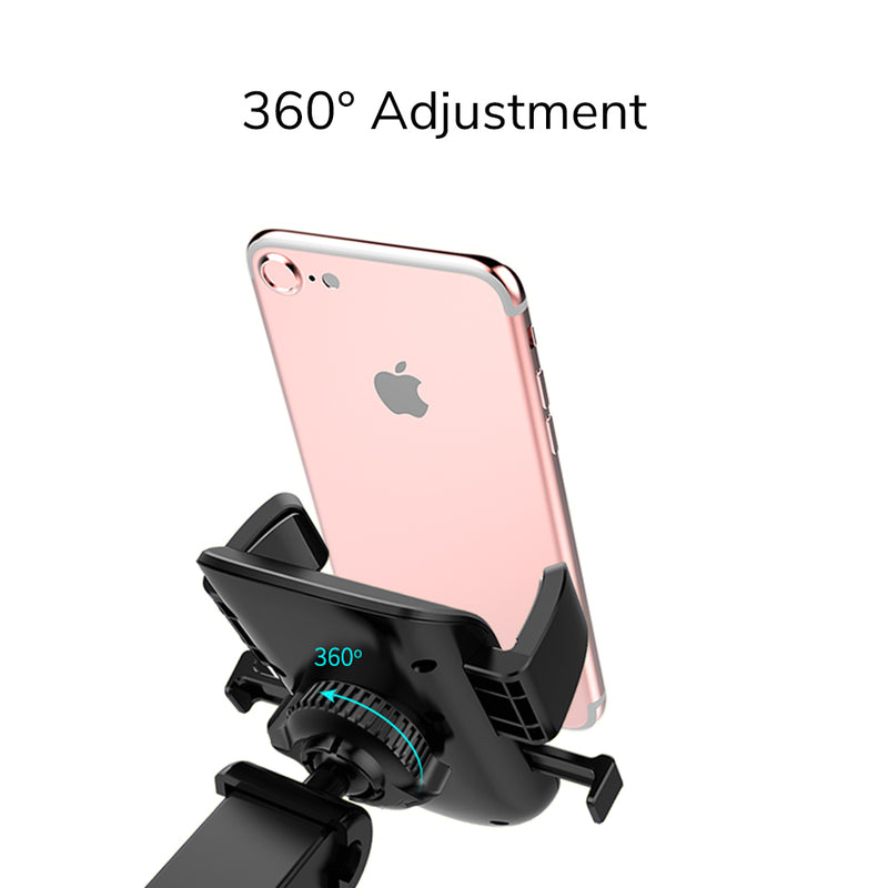 Allovit Phone Car Mount, Universal Cell Phone Holder for Car DashboardAir Vent