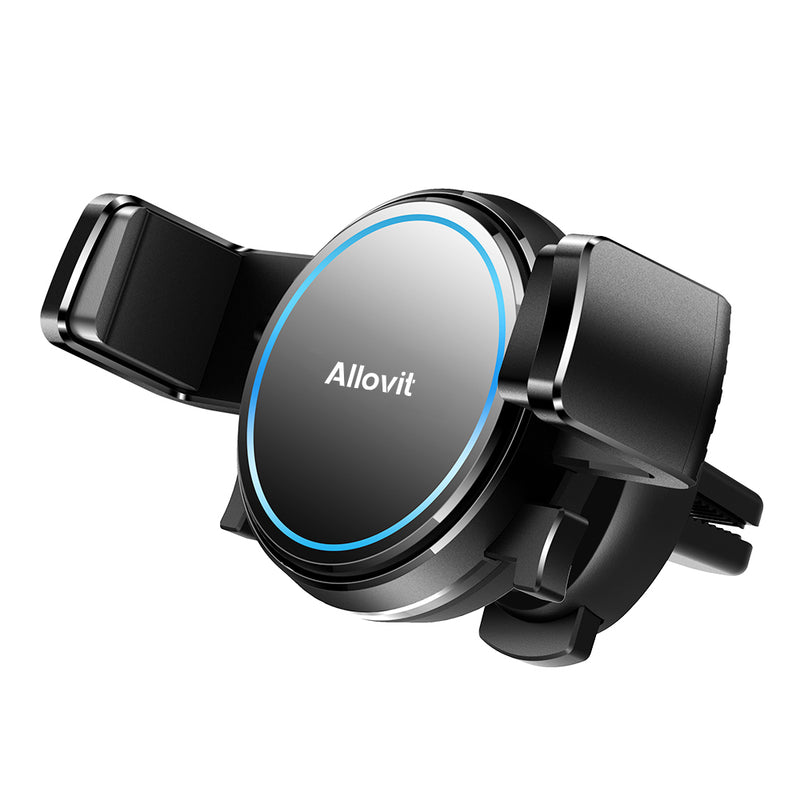Allovit Car Cell Phone Mount, Car Air Vent Clip Holder, Universal Stand Hands Free