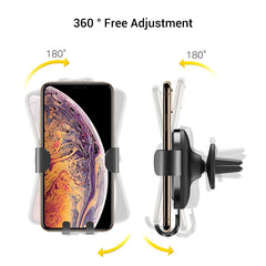 Allovit Cell Phone Holder for Car 360 Degree Rotation Suction Cup Dashboard Phone Holder Car Mount