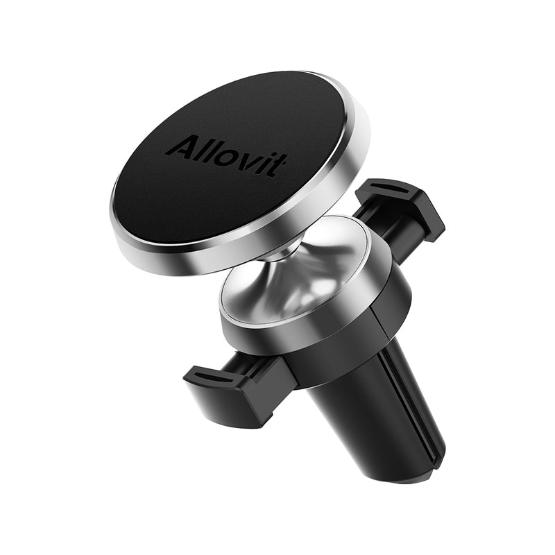 Allovit Magnetic Car Air Vent Phone Mount (Black) for Car