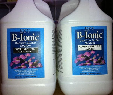 E.S.V. B-Ionic Calcium Buffer 2-part Concentrate System - 2x1 Gallon - Canada Corals