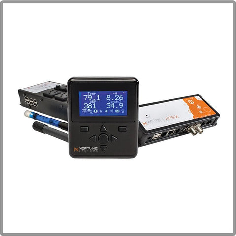 Neptune Apex AquaController Base Unit,Display,Std Probe,Temp Probe & EB8 - Canada Corals