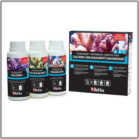 Red Sea Reef Foundation Supplements Complete Pack