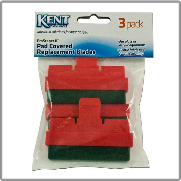 Kent Marine Pro-Scraper II Pad Covered Replacement Blades