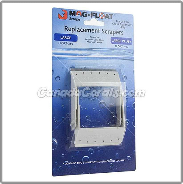 Mag-Float Replacement Scraper Blades