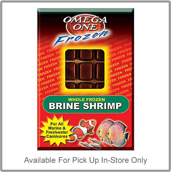 Omega One Frozen Premium Brine Shrimp