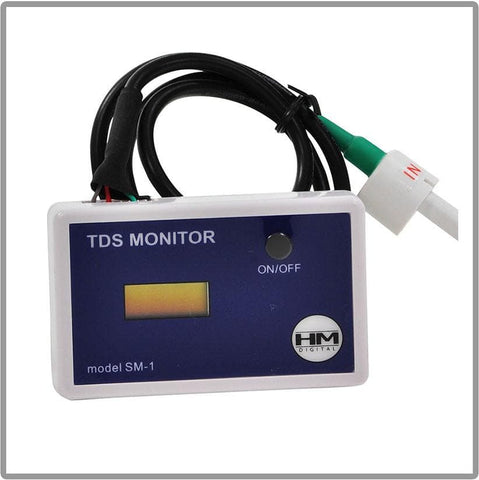 "HM Digital In-Line Single TDS Meter With 1/4"" T-Fittings"