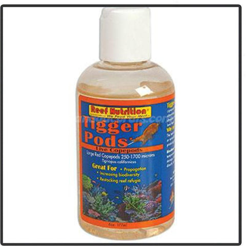 Reef Nutrition Tigger-Pods Live Copepods - Canada Corals