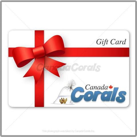 Gift Card - Canada Corals