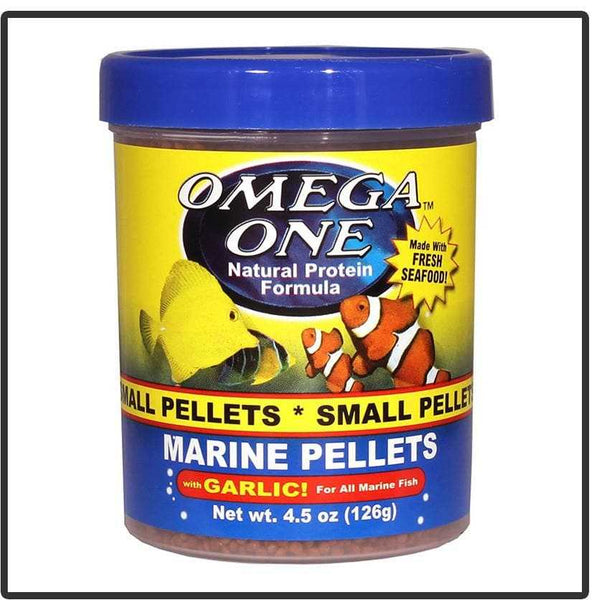 Omega One Marine Pellets with Garlic