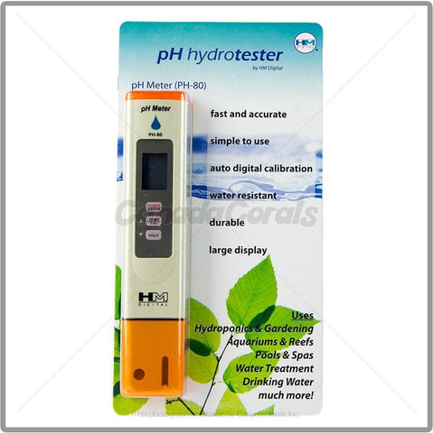 HM Digital Hydrotester PH Meter (PH-80)