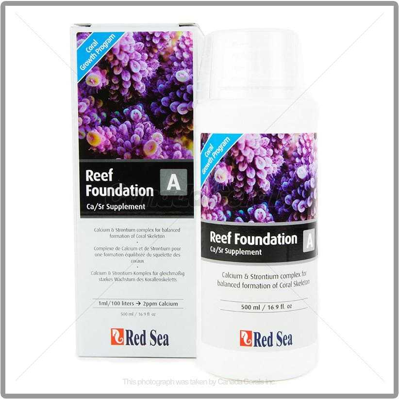 Red Sea Reef Foundation A (Ca/Sr Supplement)