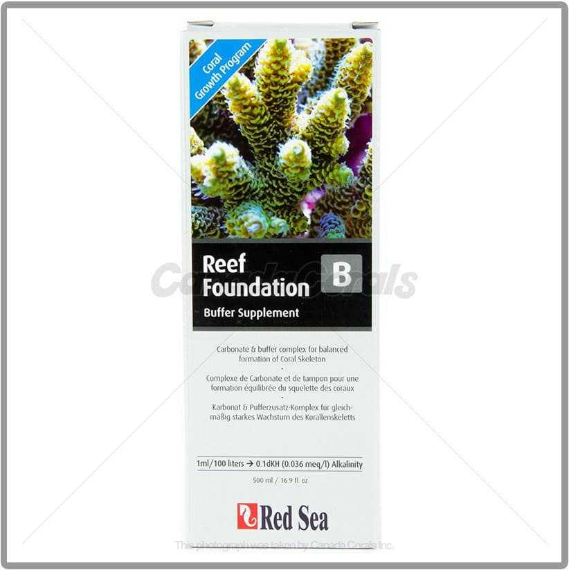 Red Sea Reef Foundation B (Alk Supplement)