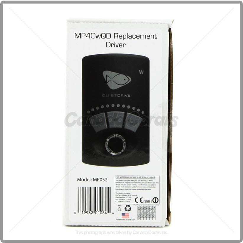 EcoTech Marine MP40wQD Replacement Driver