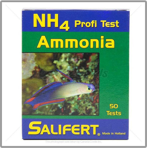 Salifert Ammonia (NH4) Aquarium Test Kit - Canada Corals