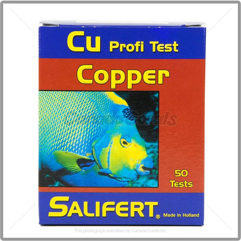 Salifert CU Copper Test Kit - Canada Corals