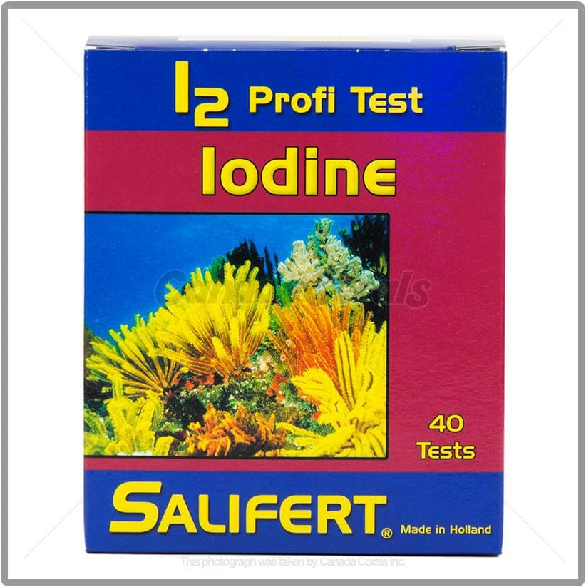 Salifert Iodine (I2) Aquarium Test Kit
