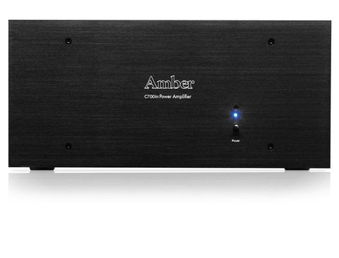 Amber C700M Mono Power Amplifier - front