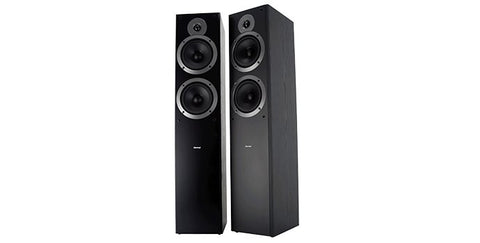 Sherwood Teatro Black Floorstanding Speakers