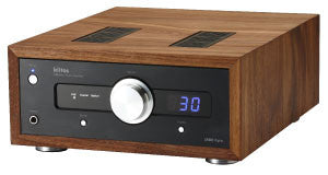 ORB Jade Fyra DAC/Amplifier with walnut case