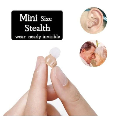 High-quality, 360° sound Invisible Nano Hearing Aid【2 Ears】 - timetopbuy
