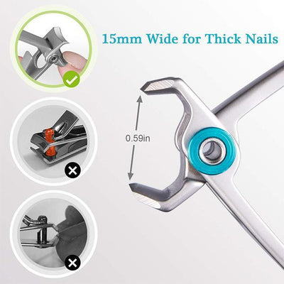 [Hot Selling 51% OFF] Nail Clippers For Thick Nails - timetopbuy