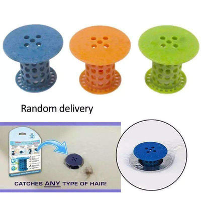TubShroom Revolutionary Hair Catcher Drain Protector for Tub Drains (No More Hair) - timetopbuy