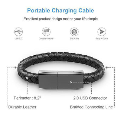 Bracelet Data Charging Cable-Buy 2 Get 10%OFF - timetopbuy