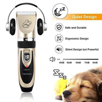 NOISE-FREE DESIGN PET HAIR CLIPPER 50% OFF - Estylish Shop