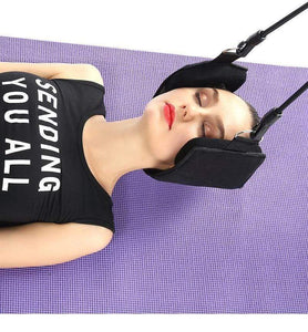 Neck Hammock - Neck Pain Relief Cervical Traction - timetopbuy