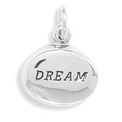 "Oval Hollow ""DREAM"" Charm"