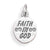 Faith in God Charm