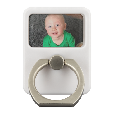 Personalized Phone Ring with Photo