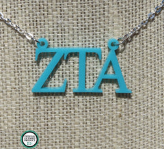 GREEK – Zeta Tau Alpha Necklace