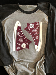 School Spirit Sneaker Shirt