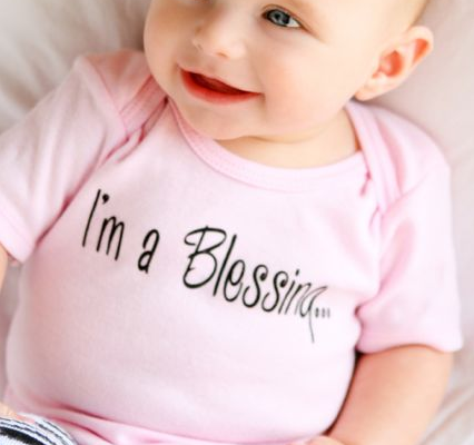 I'm a Blessing Onesie