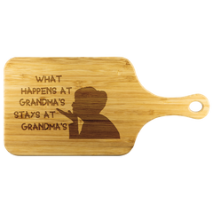Custom Wood Cutting Board - What Happens at Grandma's