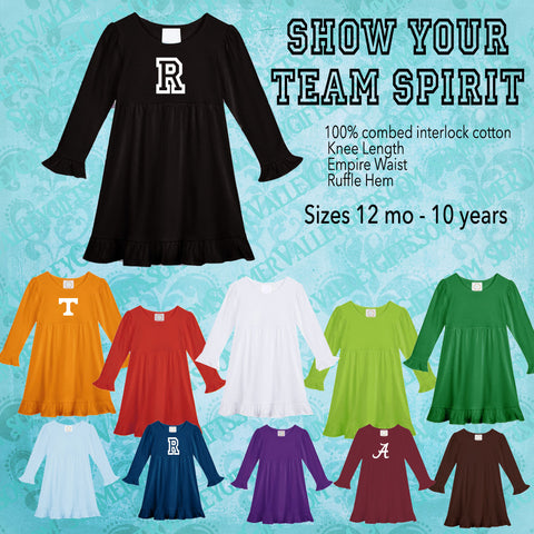 School Team Spirit Dress