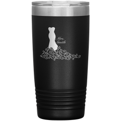 Bride Wedding Dress Stainless Insulated Tumbler Cup Wedding Gift