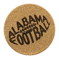 Alabama Football cork coasters Bama