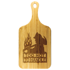 Cutting Board - Fireman - Too Hot to Handle