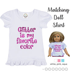 Girl and Doll Matching Shirt Sets