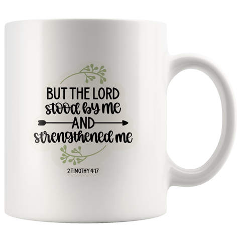 2 Timothy Verse Strength Christian Mug