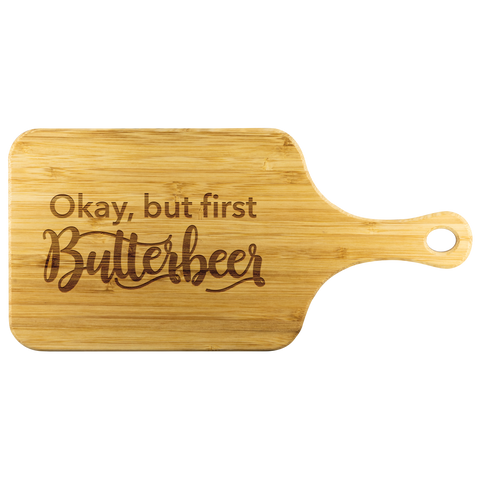 Cutting Board - But First Butterbeer