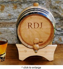 Mini Whiskey Barrel Personalized