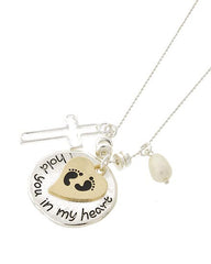 Hold You in My Heart Necklace