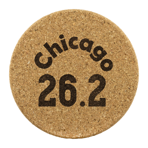 Chicago Marathon - 26.2 miles - Chicago - Coasters - Cork Coasters
