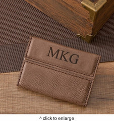 Business Card Case Mocha