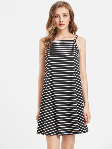 Southern Girls - Striped Cami Dress