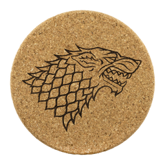 GOT inspired cork coasters Game of Thrones